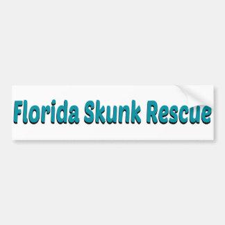 Florida Skunk Rescue Sticker