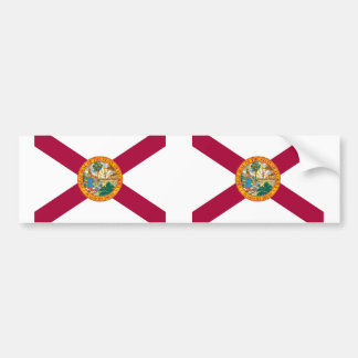 Florida State flag Bumper Sticker