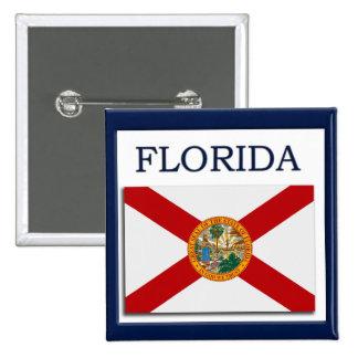 Florida State Flag Design Button