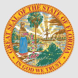 Florida state seal america republic symbol flag