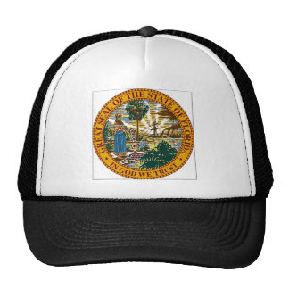 Florida State Seal Trucker Hats