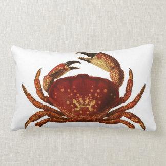 Florida Stone Crab Lumbar Throw Pillow