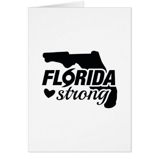 Florida Strong Card