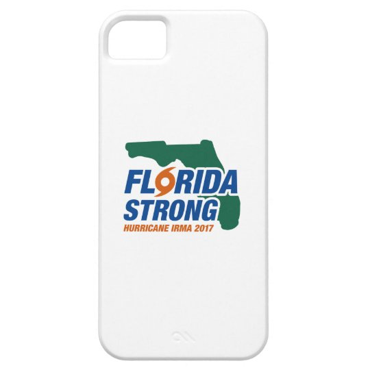 Florida Strong Hurricane Irma iPhone 5 Covers