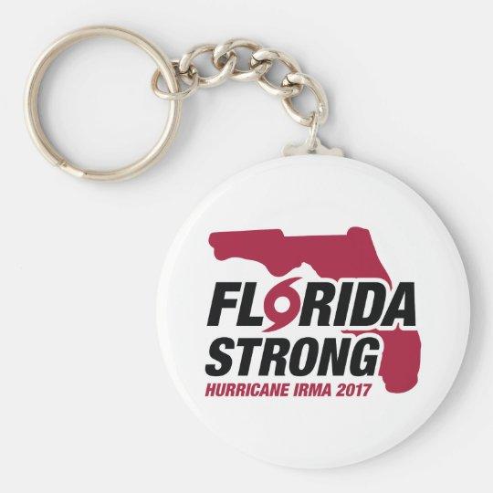 Florida Strong Hurricane Irma Key Ring
