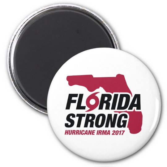 Florida Strong Hurricane Irma Magnet