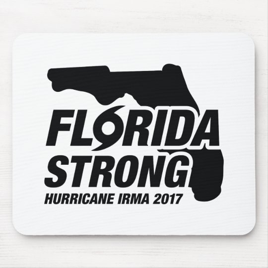 Florida Strong Hurricane Irma Mouse Pad