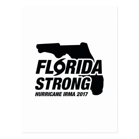 Florida Strong Hurricane Irma Postcard