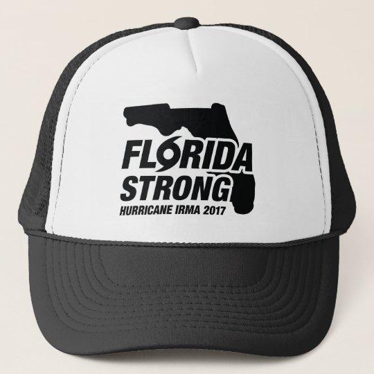 Florida Strong Hurricane Irma Trucker Hat
