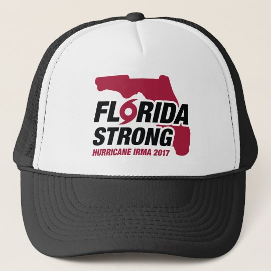 Florida Strong Hurricane Irma Trucker Hat
