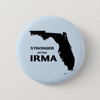 Florida stronger after hurricane Irma 6 Cm Round Badge