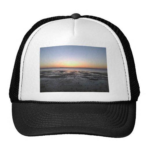 florida sun set mesh hat