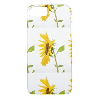Florida Sunflower Standing on White Background iPhone 7 Case