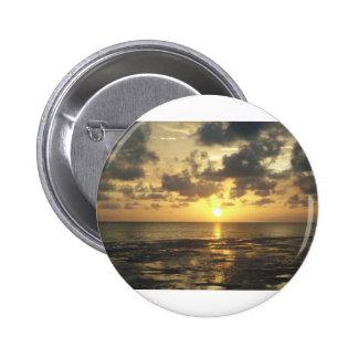 florida sunrise 6 cm round badge