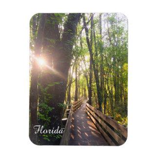 Florida Sunrise Boardwalk Magnet