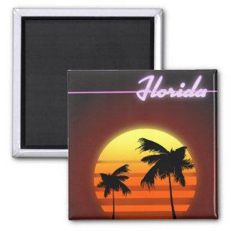 Florida Sunset 1984 poster Magnet