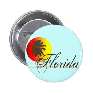 Florida Sunset 6 Cm Round Badge
