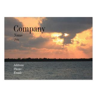 Florida Sunset Business Card