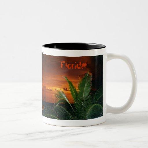 FLORIDA SUNSET - Customized Mug