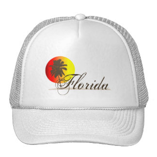 Florida Sunset Hats