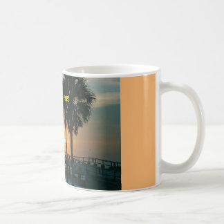 Florida Sunset Basic White Mug
