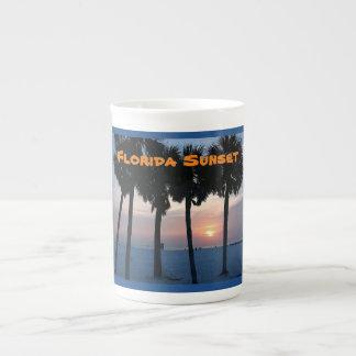 Florida Sunset Bone China Mug