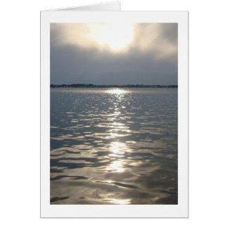 Florida Sunset Note Card