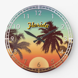 Florida Sunset Wallclocks