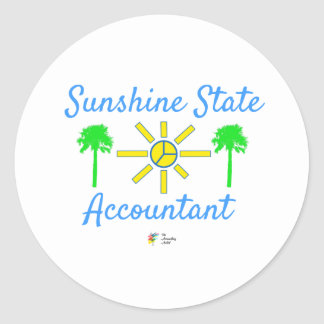Florida Sunshine State Accountant Sticker