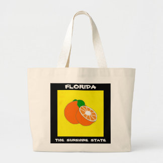 Florida Sunshine State.jpg Large Tote Bag