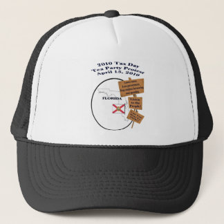 Florida Tax Day Tea Party Protest Baseball Cap