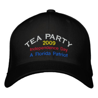 FLORIDA TEA PARTY EMBROIDERED CAP EMBROIDERED BASEBALL CAPS