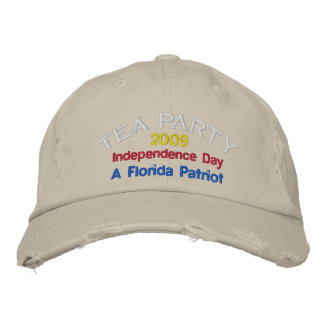 FLORIDA TEA PARTY EMBROIDERED CAP EMBROIDERED HATS