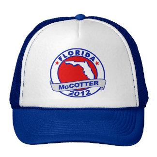 Florida Thad McCotter Trucker Hats