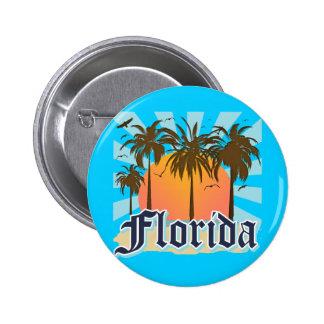 Florida The Sunshine State USA 6 Cm Round Badge