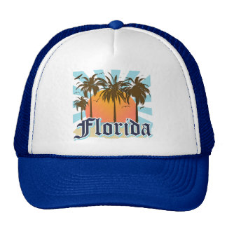 Florida The Sunshine State USA Mesh Hats