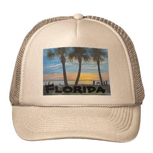 """FLORIDA TRUCKER HAT"