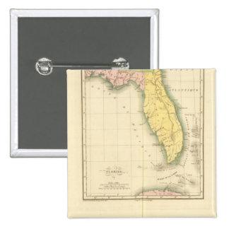 Florida US 15 Cm Square Badge