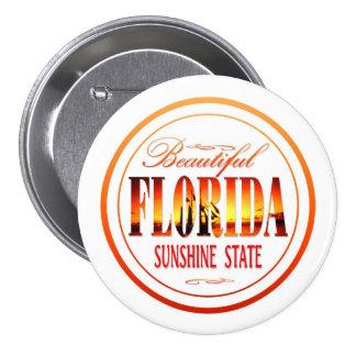 Florida USA 7.5 Cm Round Badge
