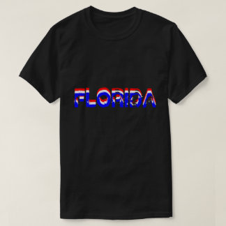 Florida, USA American Flag Colors T-Shirt