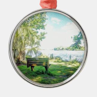 Florida Views Metal Ornament