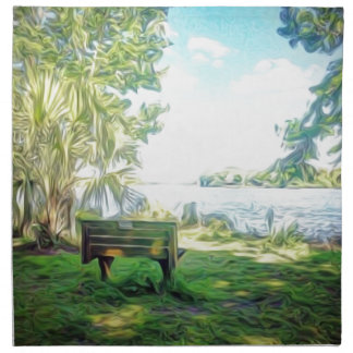 Florida Views Napkin