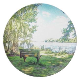 Florida Views Plate