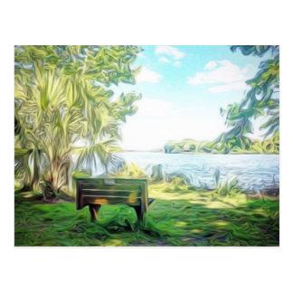 Florida Views Postcard