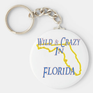 Florida - Wild and Crazy Key Ring