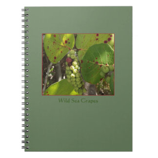 Florida Wild Sea Grapes Notebook