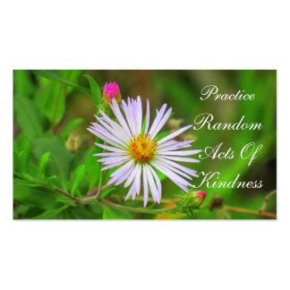 Florida Wildflower Random Acts of Kindness Card Pack Of Standard Business Cards