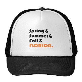 Florida Winter Mesh Hats