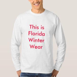 Florida Winter Wear T-Shirt