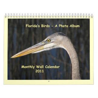 Florida's Birds - A Photo Album Calendar